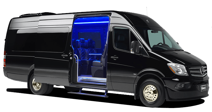 luxury sprinter van for rent